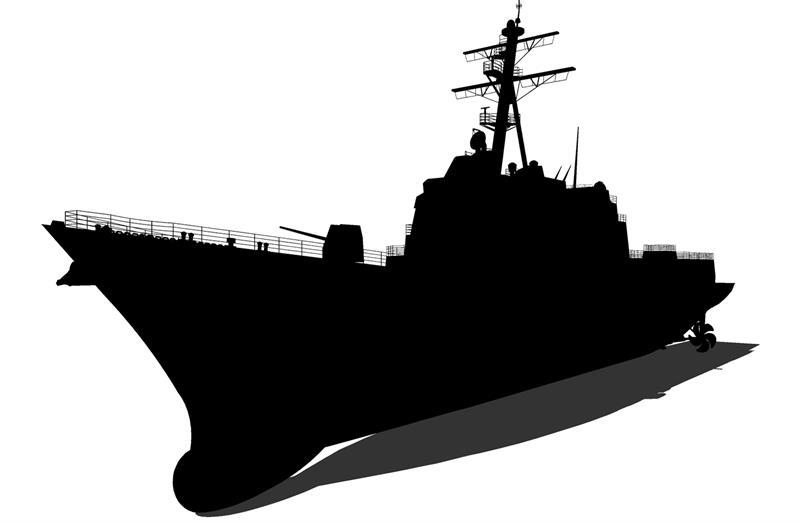 3d Model Of Arleigh Burke Class Destroyer